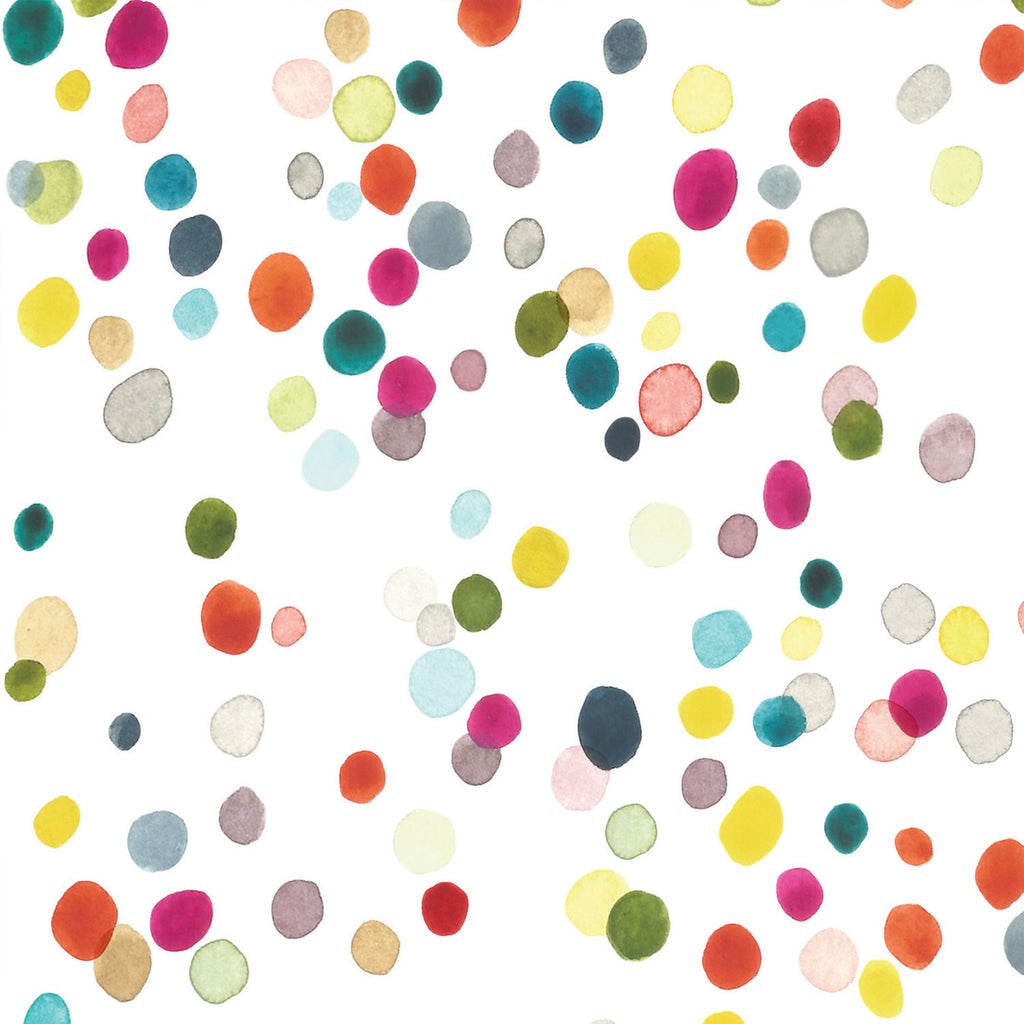 Confetti pattern watercolour multicoloured background for iPhone. Free digital file download.