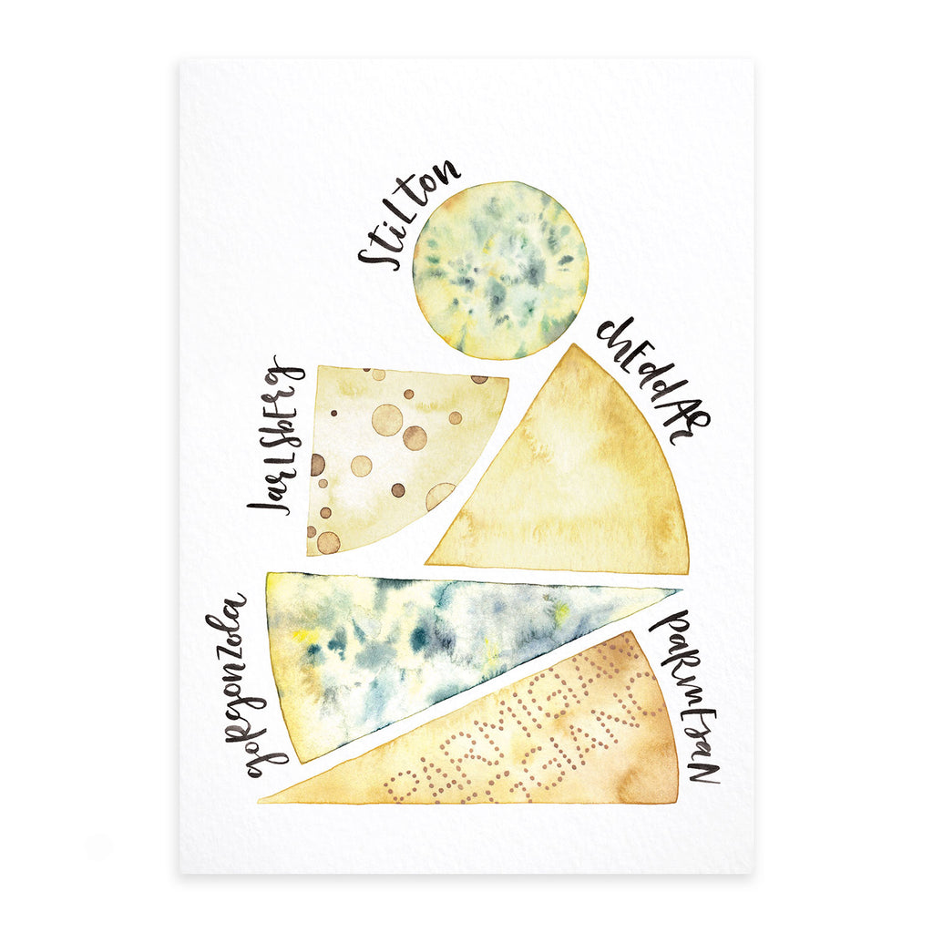 Fine Art Print: Cheese