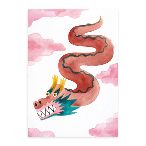 Fine Art Print: Dragon
