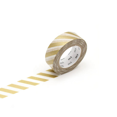 MT Washi Tape - Gold Stripe