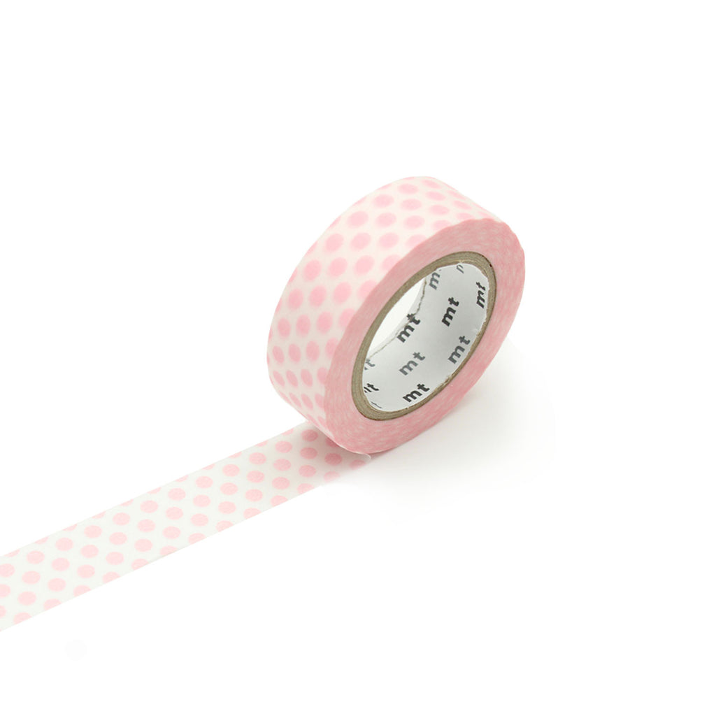 MT Washi Tape - Strawberry Milk Dots