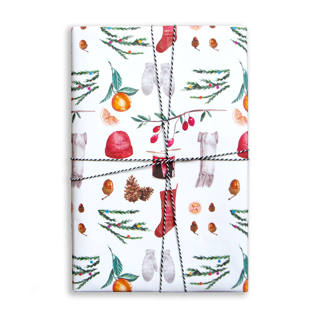Gift Wrap Sheet - Christmas Collection