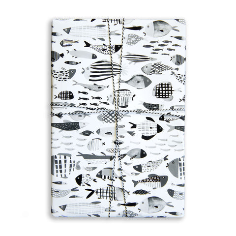 Gift Wrap Sheet - Fish