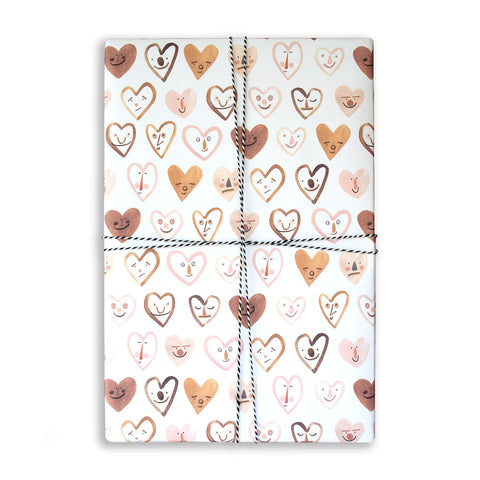 Gift Wrap Sheet - Loved