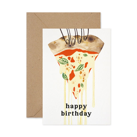 Birthday Pizza Slice