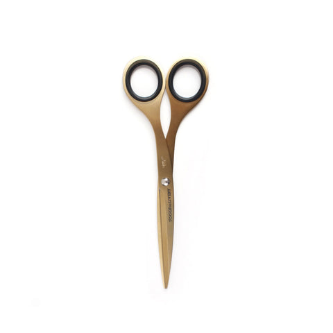 Tools To Live by 6.5 inch brass gold scissors