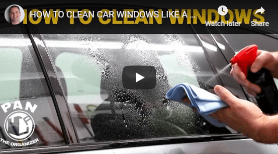 🎥 VIDEO: How to Clean Your Car Windows like Pro! ✨