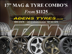 Mag & Tyre Combo's