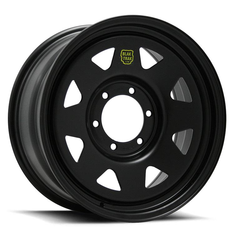 ROH BLAK TRAK STEEL WHEELS - BLACK
