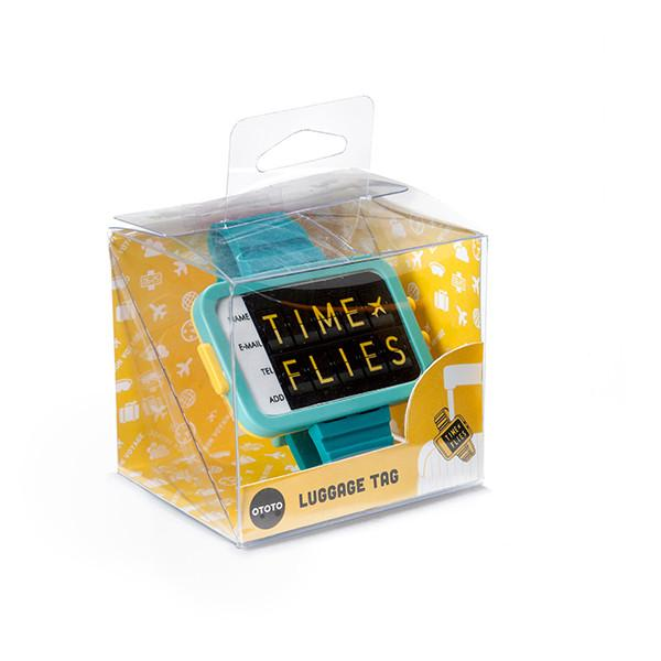 Time Flies / Luggage tag