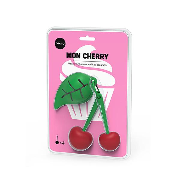 Mon Cherry / Measuring spoons and egg separator