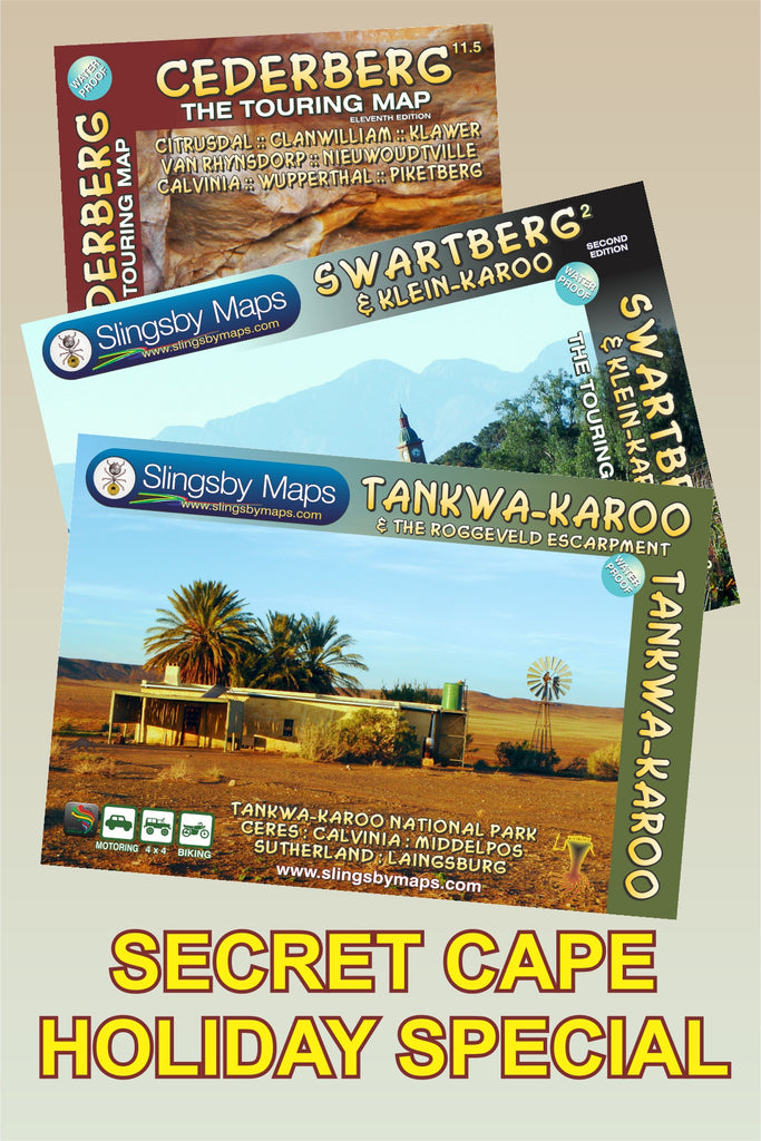 SAT07 SECRET CAPE HOLIDAYS (available in SOUTH AFRICA only)