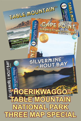 SAH01 TABLE MOUNTAIN NATIONAL PARK, includes Hoerikwaggo Trail (available in SOUTH AFRICA only)