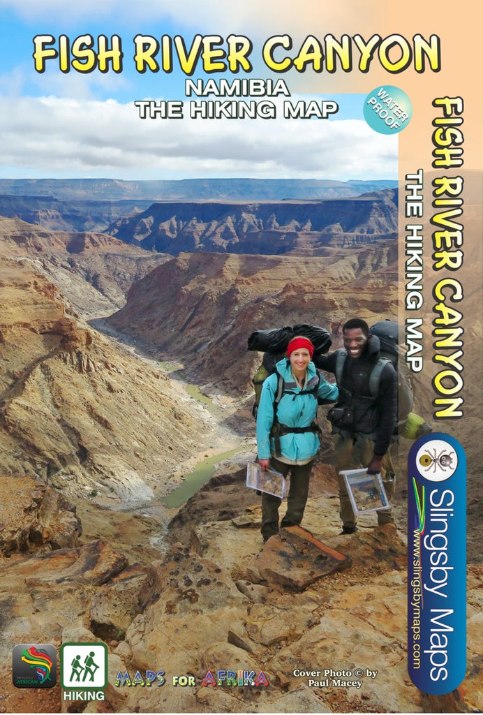 AH05 Fish River Canyon - 2017 – Slingsby Maps Hiking Maps on