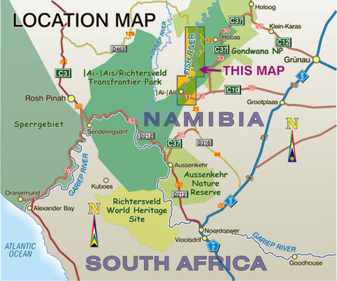 AH05 Fish River Canyon Slingsby Maps