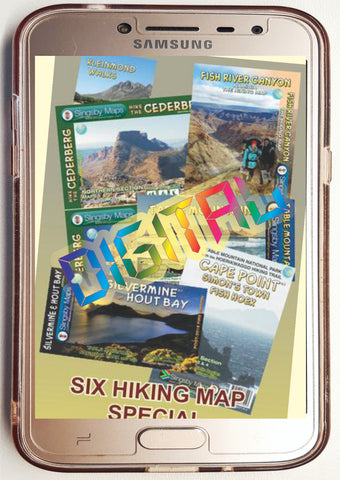 DSH03 Digital Six Hiking Map SPECIAL