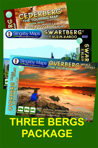 SAT04 THREE BERGS Package (available in SOUTH AFRICA only)