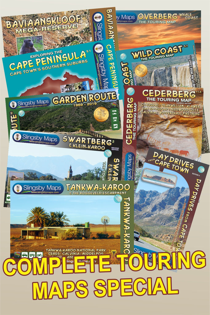SAT01 COMPLETE TOURING MAP package (available in SOUTH AFRICA only)