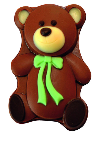 Solid milk chocolate teddy (5 Count)