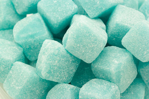 Quarter of Blue Raspberry Cubes (approx 100g)