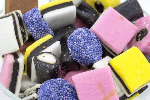 Quarter of Liquorice Allsorts (approx 100g)