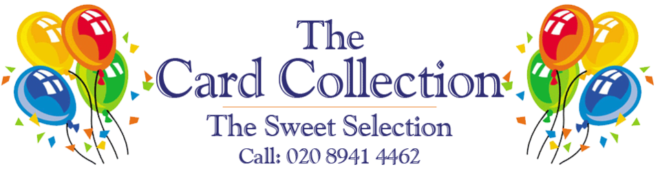The Card Collection | Belgian Chocolates, Sweets, Greetings Cards, Balloons