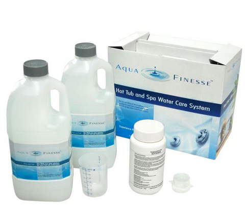 Aquafinesse Hot Tub & Spa Water Care System Kit