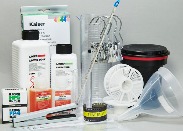 Complete Film Processing Kit#2 for 15 rolls 35mm FREE UK SHIPPING