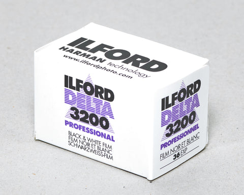 Ilford Delta 3200 Professional- 35mm Roll Film Expired 10/2019