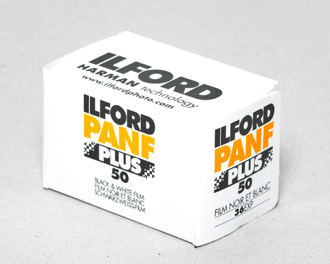 Ilford PanF PLUS- 35mm Roll Film