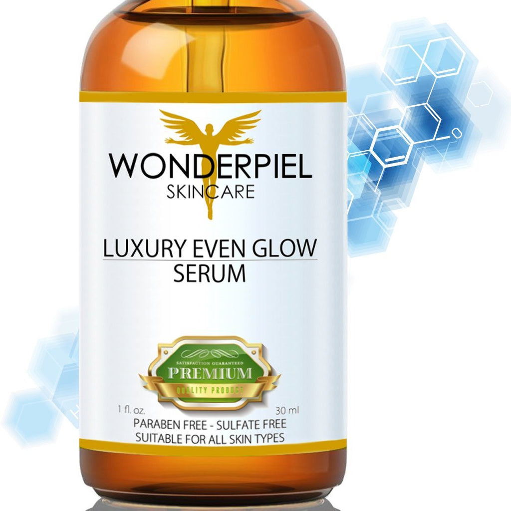 Dark Spot Corrector/Remover With Vitamin C - Wonder Glow Serum by WONDERPIEL