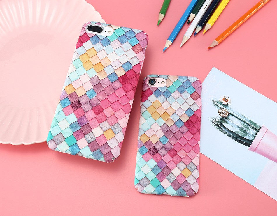 Mermaid iPhone Case with 3D Illusion Effect - 50% off