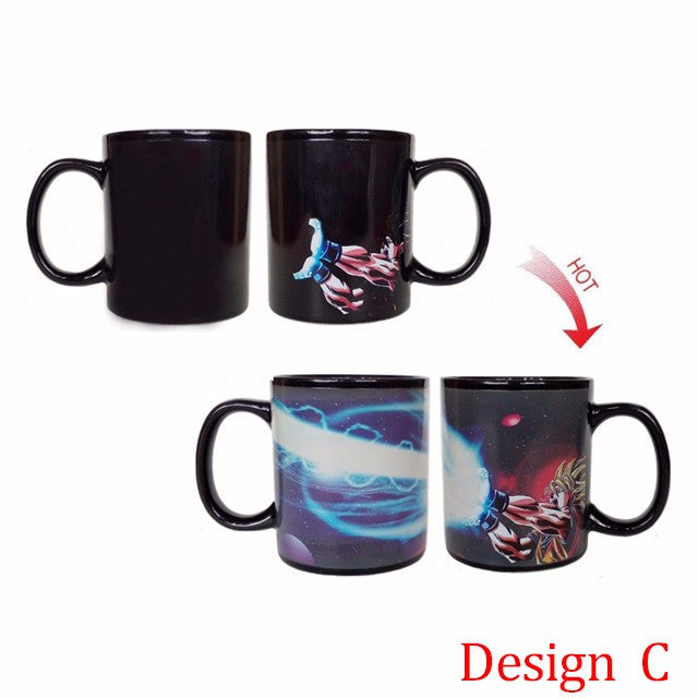 Dragon Ball Mug - Heat Reactive Color Changing Mug