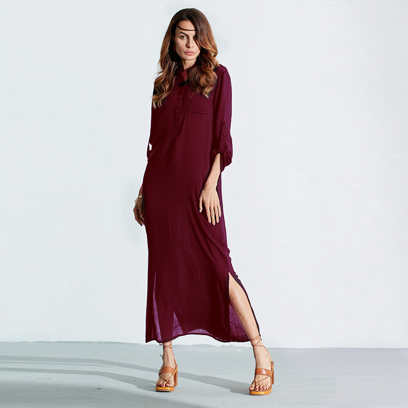 Elegant Long Dress for Summer