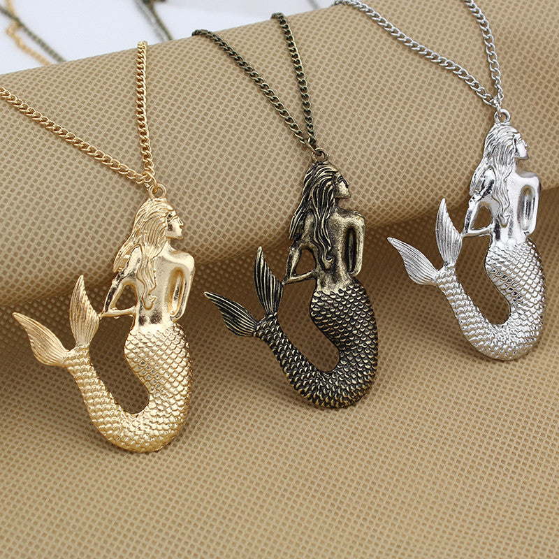 "Little Mermaid 30""Long Necklace"