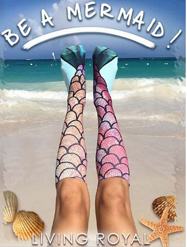 Mermaid Socks for Summer