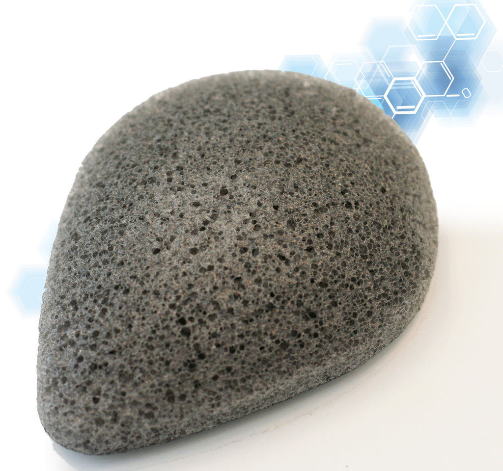 Konjac Sponge - Facial Sponge With Activated Bamboo Charcoal