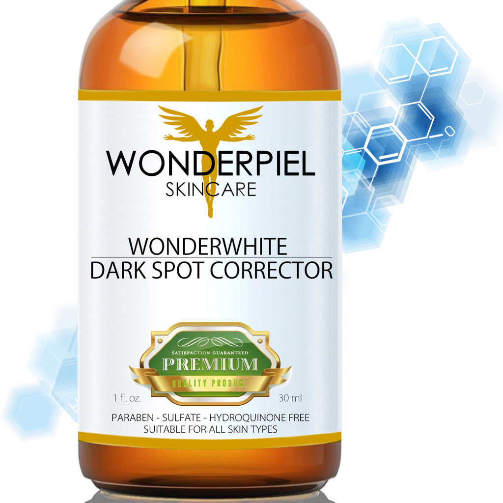 Best Dark Spot Corrector - Age and Sun Spot Remover For Face - Wonderwhite by WONDERPIEL