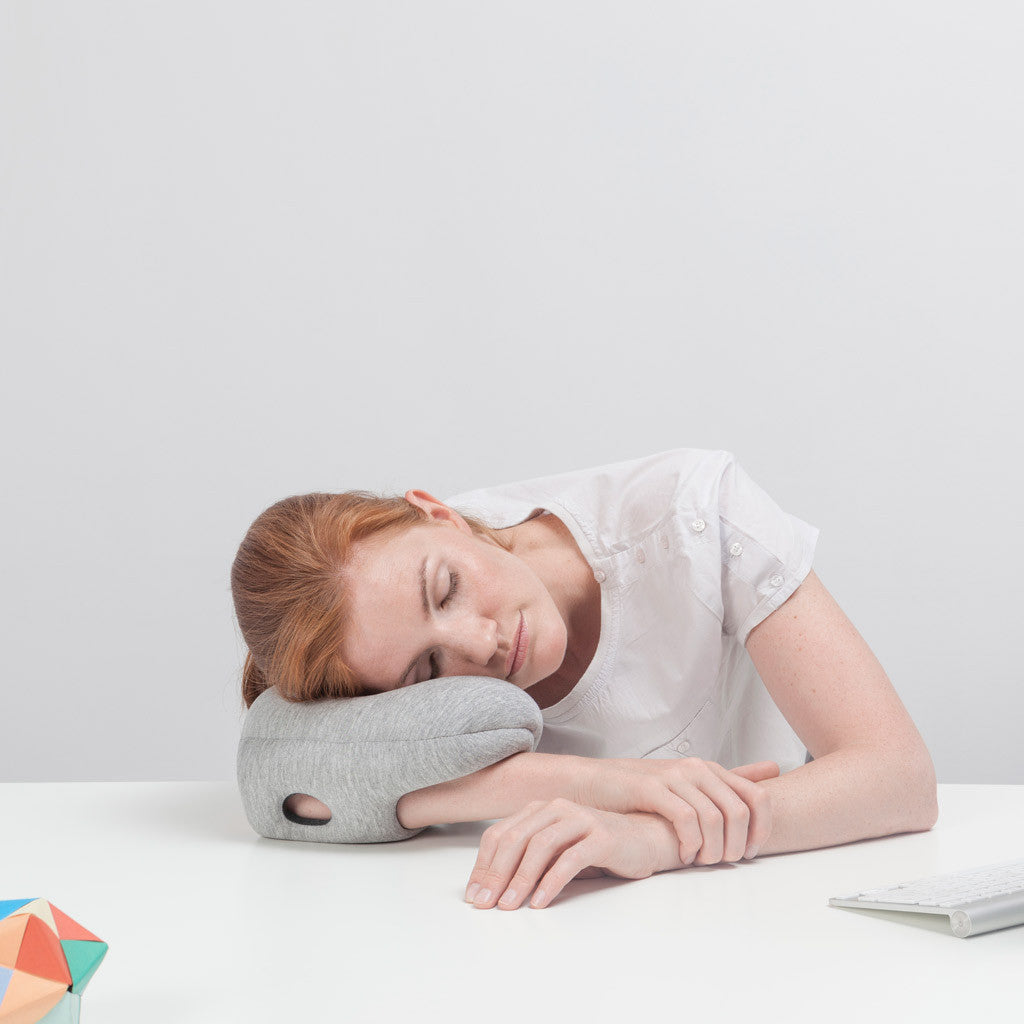 studio banana things ostrichpillow family ostrichpillow mini quality napping whithin arm's reach arm position