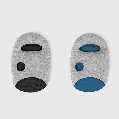 studio banana things ostrichpillow family ostrichpillow mini gift pack mini twin pack one midnight grey and sleepy blue