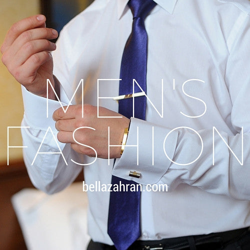 Be Fearless: Bella Zahran Men's Fashion