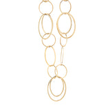 "36"" Large Loop Chain Necklace in 14K Yellow Gold"