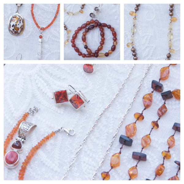 Autumn jewelry
