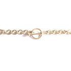 Chain Cable Toggle Clasp Sterling Silver