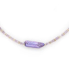 Amethyst & Lavender Pearl Necklace