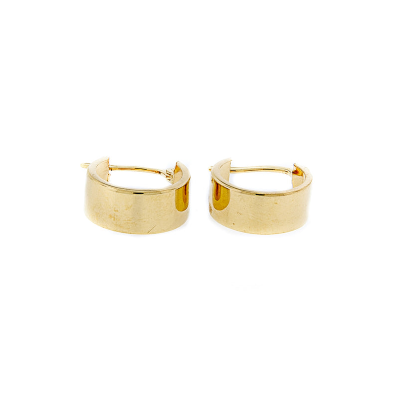 Polished Hoop Earrings