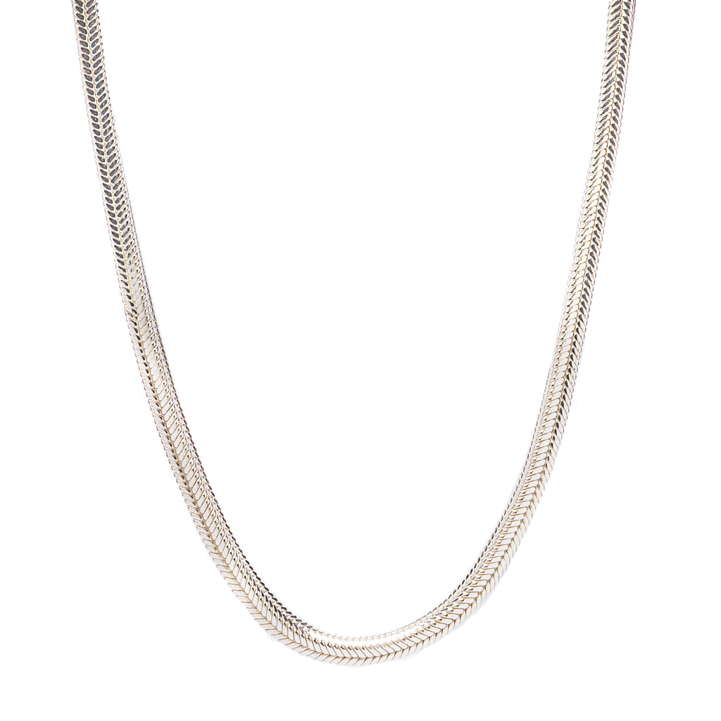 mens figaro men solid chain sterling silver necklace s