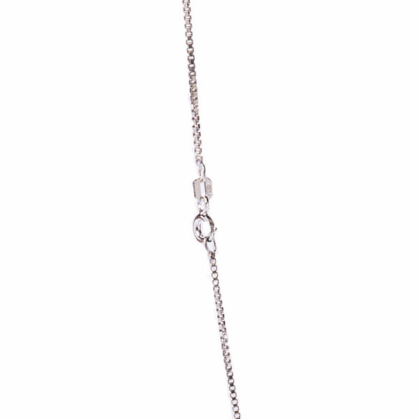 Box Chain Sterling Necklace