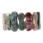 Multi Color Agate Bracelet