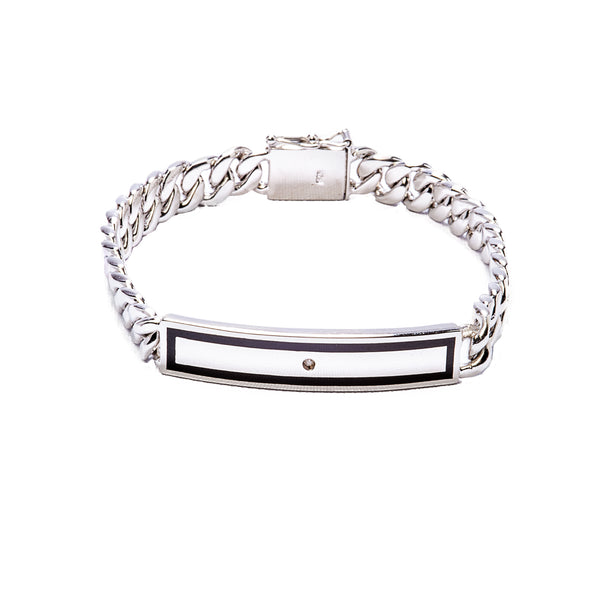 Diamond Bracelet - Sterling Silver